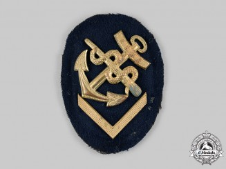 Germany, Kriegsmarine. An EM/NCO's Medical Specialist Insignia