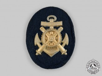 Germany, Kriegsmarine. An EM/NCO's Ordinance Mechanic Specialist Insignia