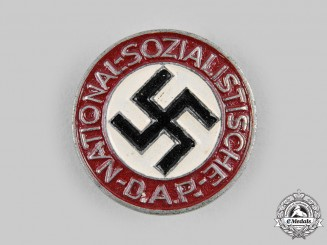 Germany, NSDAP. A Membership Badge by Foerster & Barth