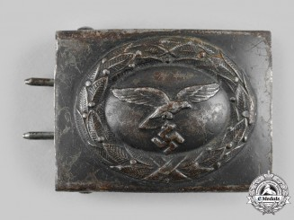 Germany, Luftwaffe. An EM/NCO's Belt Buckle by Schmölle & Co.
