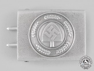 Germany, RAD. A Reich Labour Service (RAD) EM/NCO's Belt Buckle