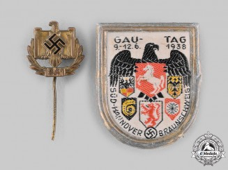 Germany, Third Reich. A Pair of Badges