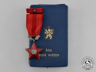 Czechoslovakia, Socialist Republic. An Order of the Red Star,