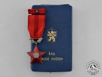 Czechoslovakia, Socialist Republic. An Order of the Red Star,