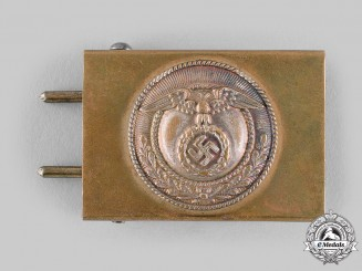 Germany, HJ. A Sturmabteilung-Style EM/NCO's Belt Buckle