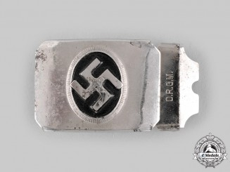 Germany, Third Reich. A NSDAP Sympathizer's Belt Buckle