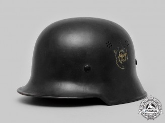 Germany, Ordnungspolizei. A Civil Police M34 Steel Helmet