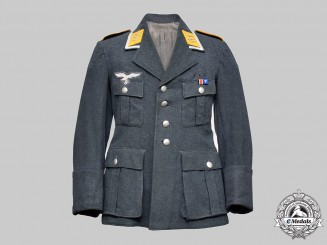 Germany, Luftwaffe. A Flight Feldwebel Service Tunic