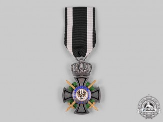 Prussia, Kingdom. A House Order of Hohenzollern, Inhaber Cross, with Swords (Collectors Copy)