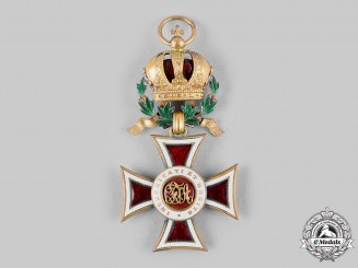 Austria, Imperial. An Order of Leopold, Knight Cross, with War Decoration (Collectors Copy)
