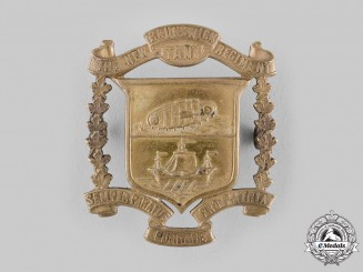 Canada. The New Brunswick Regiment (Tank) Cap Badge, by Scully,