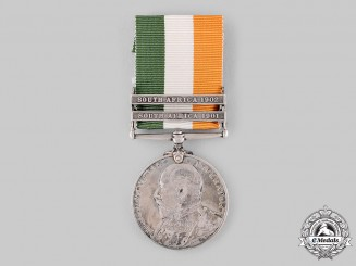 United Kingdom. A King's South Africa Medal 1899-1902, South Staffordshire Regiment
