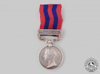 United Kingdom. An India General Service Medal 1854-1895,37th Bengal Infantry