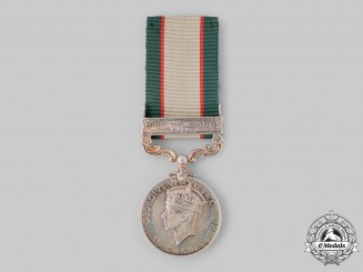 United Kingdom. An India General Service Medal 1936-1939, Royal Warwickshire Regiment