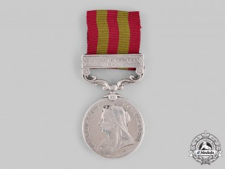 United Kingdom. An India Medal 1895-1902, 4th Kashmir Rifles