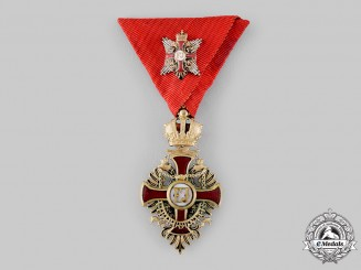 Austria, Empire. A Franz Joseph Order, Knight's Cross with Commander's Star (Collectors Copy)