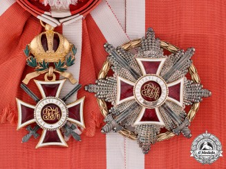 Austria, Imperial. An Imperial Order of Leopold, Grand Cross with War Decoration (Rothe Copy)