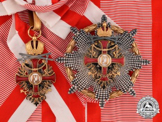 Austria, Imperial. An Order of Franz Joseph, Grand Cross with Swords (Rothe Copy)