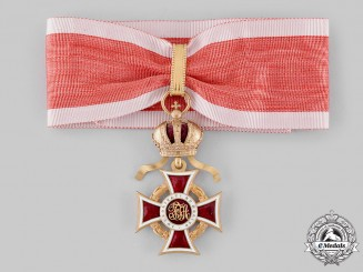 Austria, Imperial. An Order of Leopold, Commander Cross with Lower Grade War Decoration (Rothe Copy)