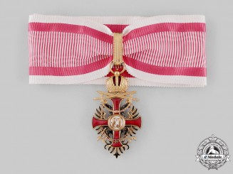Austria, Imperial. An Order of Franz Joseph, Commander Cross with Swords (Rothe Copy)