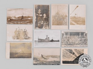 Germany, Imperial. A Lot of Naval Related Postcards