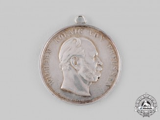 Prussia, Kingdom. A King Wilhelm I Marksmanship Medal by Emil Weigand
