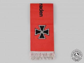 Germany, Third Reich. A Veteran's Funeral Sash, EK