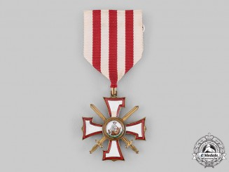 Latvia. An Order of the Bear Slayer; Knight, c.1940