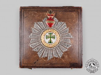 Portugal, Kingdom. An Order of Aviz, Grand Cross Star with Case, by Phillips, London, c.1895