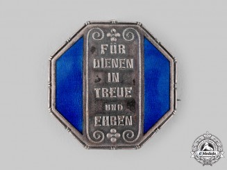 Germany, Weimar Republic. A Free State of Württemberg Honour Badge for Female Servants