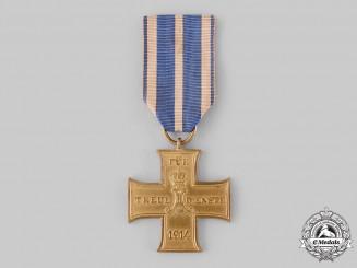Schaumburg-Lippe, Principality. A Cross for Faithful Service