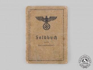 Germany, Heer. A Soldbuch, Schützen-Ersatz-Kompanie 3/474