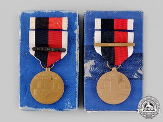 United States. A Pair of Army of Occupation Medals