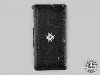 United Kingdom. An Order of St. John, Knight of Grace Set Case, c.1918