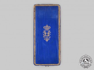 Italy, Kingdom. A Military Order of Savoy, I Class Grand Cross Case, c.1940