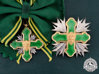 Colombia, Republic. An Order of San Carlos, Grand Cross with Case, by Meco, c.1980