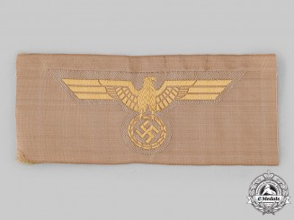 Germany, Kriegsmarine. An EM/NCO's Tropical Breast Eagle