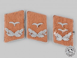 Germany, Luftwaffe. A Lot of Communications Personnel Collar Tabs