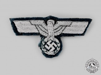Germany, Heer. An Officer's Visor Cap Eagle
