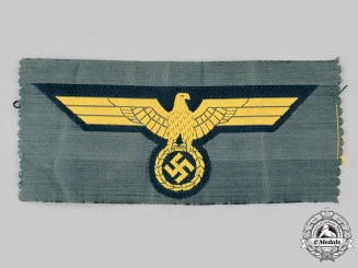 Germany, Kriegsmarine. A Coastal Artillery EM/NCO's Breast Eagle
