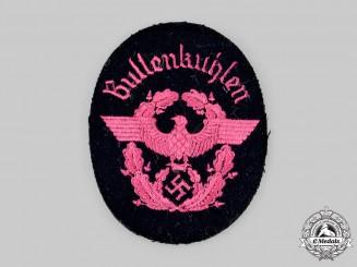 Germany, Feuerschutzpolizei. A Bullenkuhlen Sleeve Insignia