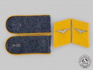 Germany, Luftwaffe. A Set of Flight Personnel Flieger's Rank Insignia