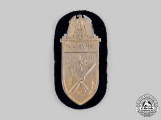 Germany, Kriegsmarine. A Narvik Shield