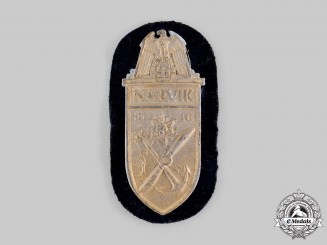 Germany, Kriegsmarine. A Narvik Shield