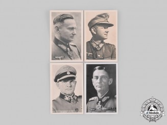 Germany.  A Lot of Photographs of Wehrmacht and Waffen-SS Generals, Knight's Cross Recipients