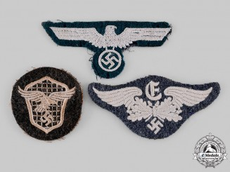 Germany, Wehrmacht. A Lot of Wehrmacht Eagle Insignia