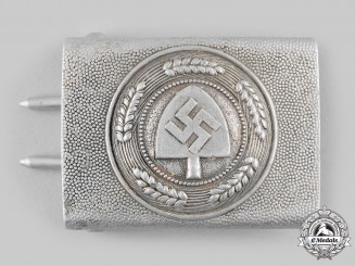 Germany, RAD. A Reich Labour Front (RAD) EM/NCO's Belt Buckle by F.W. Assmann & Söhne