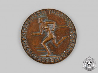 Germany, Weimar Republic. A 1929 Berlin Gymnastics and Sports Week Honour Prize