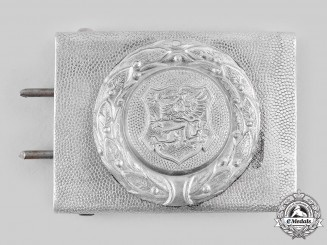 Germany, Weimar Republic. A Mecklenburg Belt Buckle