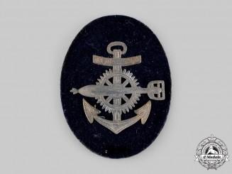 Germany, Kriegsmarine. An EM/NCO's Torpedo Mechanic Specialist Insignia